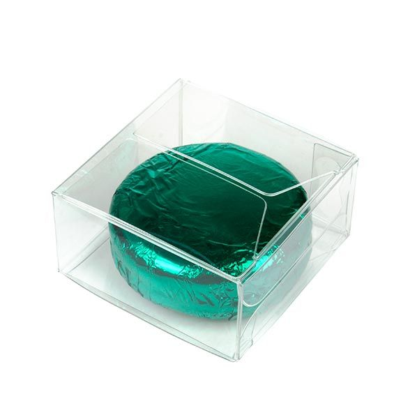 """2"""" x 2"""" x 1"""" Crystal Clear Value Boxes (50 Pieces)"""
