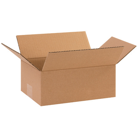 "10 x 7 x 4"" Corrugated Boxes 25/Bundle"