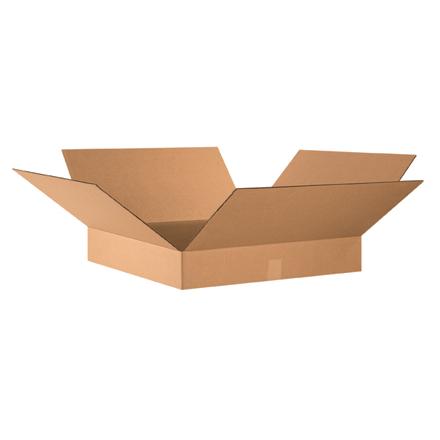 "24 x 24 x 4"" Flat Corrugated Boxes 10/Bundle"