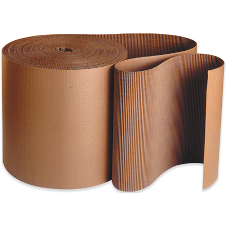 "36"" x 250' Single Face Corrugated Roll"