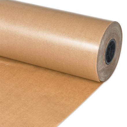 """24"""" x 1500' Waxed Kraft Paper Roll"""