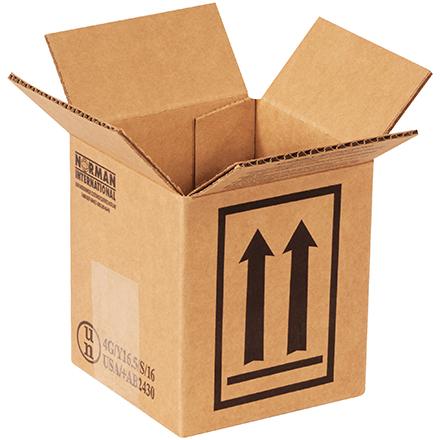 1 - 1 Quart Haz Mat Box 25/Bundle