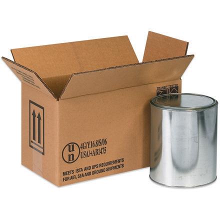 2 - 1 Gallon Haz Mat Box 20/Bundle