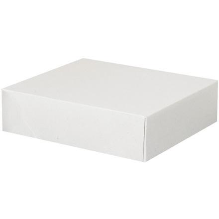 11 1/8  x 9 1/2  x 3 Stationery Folding Carton 200/Case
