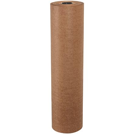 """36"""" x 1500' Waxed Kraft Paper Roll"""