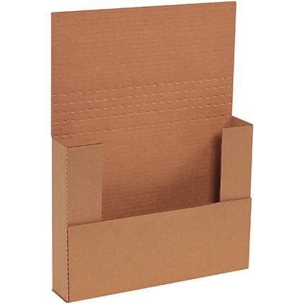 11 1/8 x 8 5/8 x 1/2, 1, 1 1/2, 2Kraft Bookfold 50/Bundle