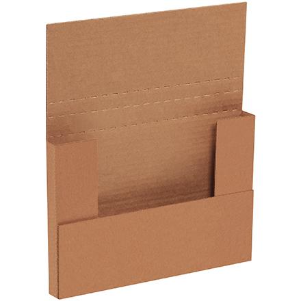 9 5/8 x 6 5/8 x 5/8 - 1 1/4 Kraft Bookfold 50/Bundle