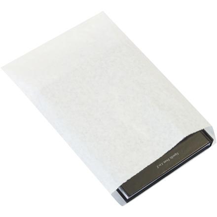 8 1/2 x 11 #8 White Flat Merchandise Bag 2000/Bundle