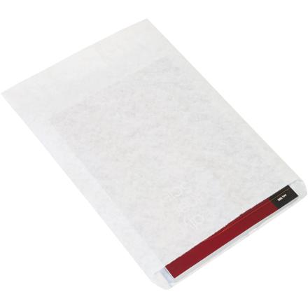 """10"""" x 13"""" #10 White Flat Merchandise Bag 1000/Bundle"""