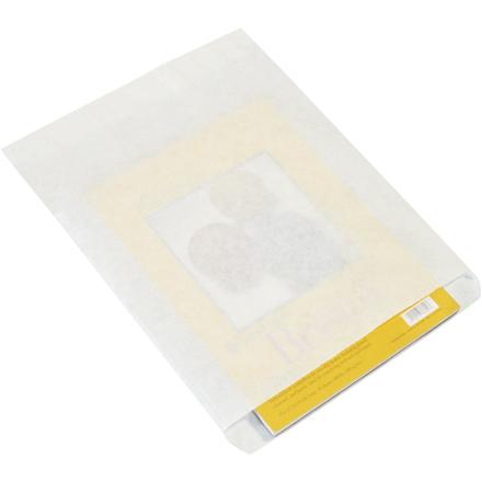 12 x 15 #12 White Flat Merchandise Bag 1000/Bundle