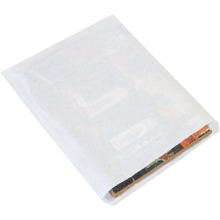 15 x 18 #15 White Flat Merchandise Bag 1000/Bundle