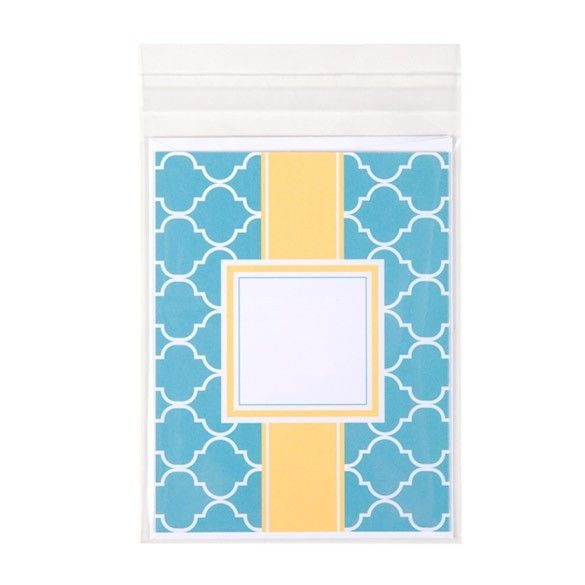 """4 5/8"""" x 5 3/4"""" + Flap, Crystal Clear Bags (100 Pieces)"""