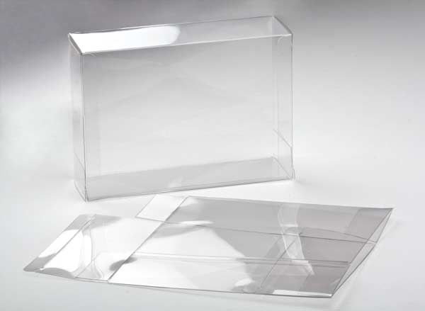 """5 3/8"""" x 2 1/2"""" x 7 3/8"""" Crystal Clear Boxes (25 Pieces)"""
