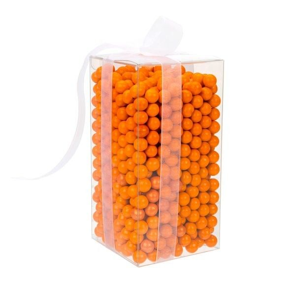 """3"""" x 3"""" x 6"""" Crystal Clear Boxes Pop & Lock (25 Pieces)"""