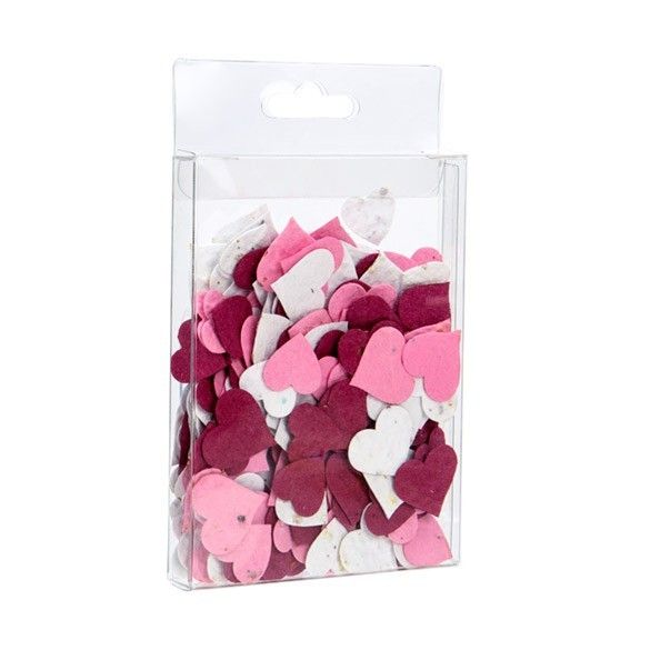 """3 3/4"""" x 5/8"""" x 5 3/16"""" Crystal Clear Hanging Box (25 Pieces)"""