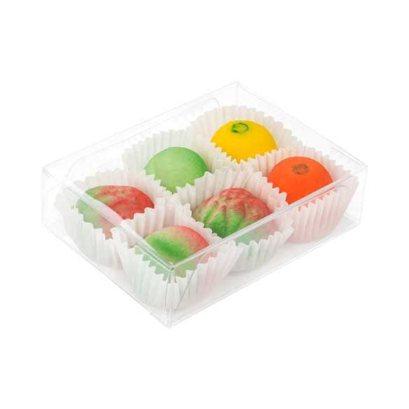 """2 5/8"""" x 1"""" x 3 9/16"""" Chocolate Box with Insert (100 Pieces)"""
