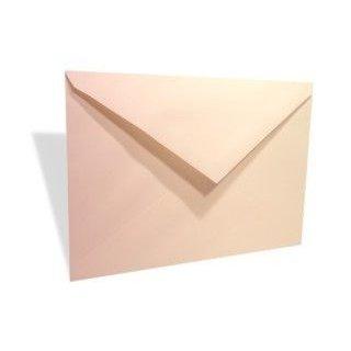 """Lee 7 1/4"""" x 5 1/4"""" Linen Envelope, Natural (50 Pieces)"""