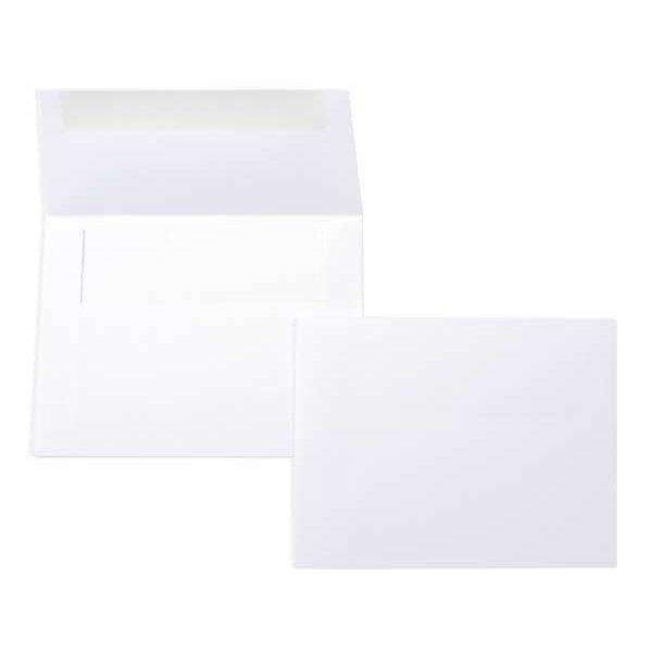 "A6 6 1/2"" x 4 3/4"" Bright Envelope Bone White (50 Pieces)"