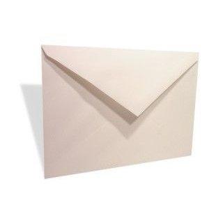 "7 1/2"" x 5 1/4"" Linen Envelope White (50 Pieces)"