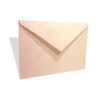 "6 Bar 4 3/4"" x 6 1/2"" Linen Envelope, Natural (50 Pieces)"