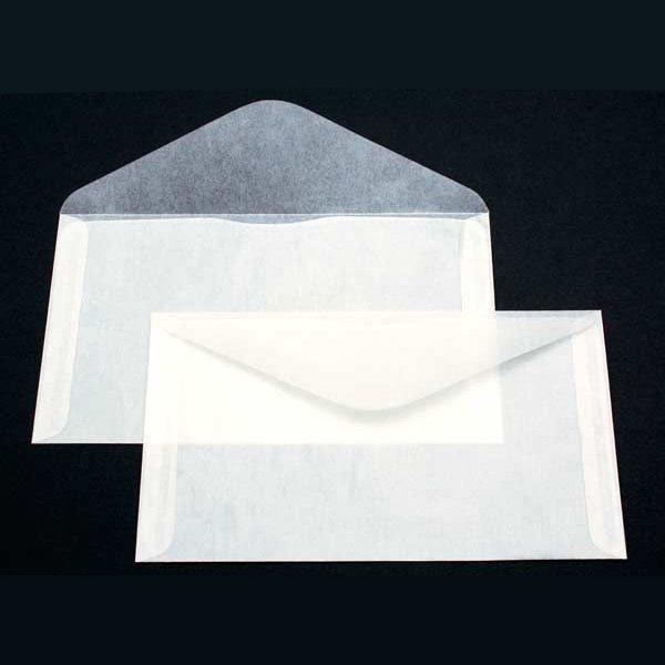 "6 3/4"" x 3 3/4"" Glassine Open Side 2 Side Seams (100 Pieces)"