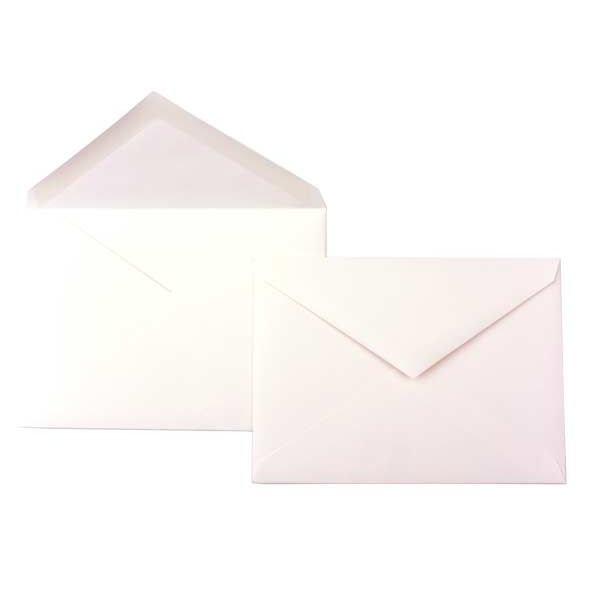 "Lee 7 1/4"" x 5 1/4"" Premium Opaque Envelope, Natural (50 Pieces)"