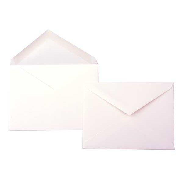 "6 Bar 6 1/2"" x 4 3/4"" Premium Opaque Envelope, Natural (50 Pieces)"