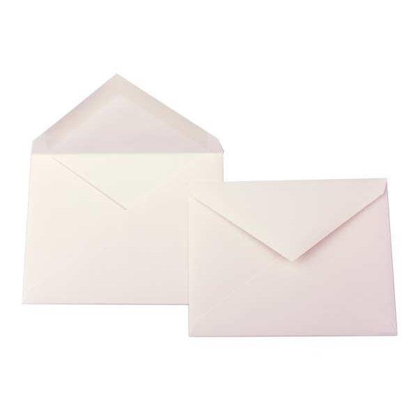 "5.5 Bar 5 3/4"" x 4 3/8"" Premium Opaque Envelope, Natural (50 Pieces)"