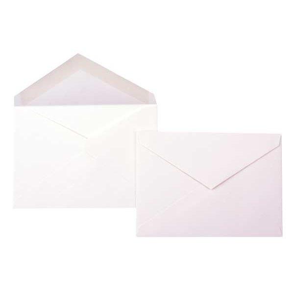 "4 Bar 5 1/8"" x 3 5/8"" Premium Opaque Envelope, Natural (50 Pieces)"