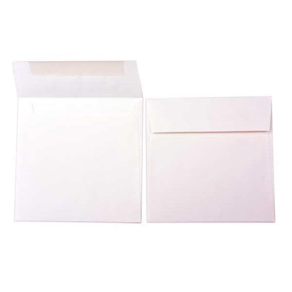 """6 1/2"""" x 6 1/2"""" Premium Opaque Envelope, Natural (50 Pieces)"""