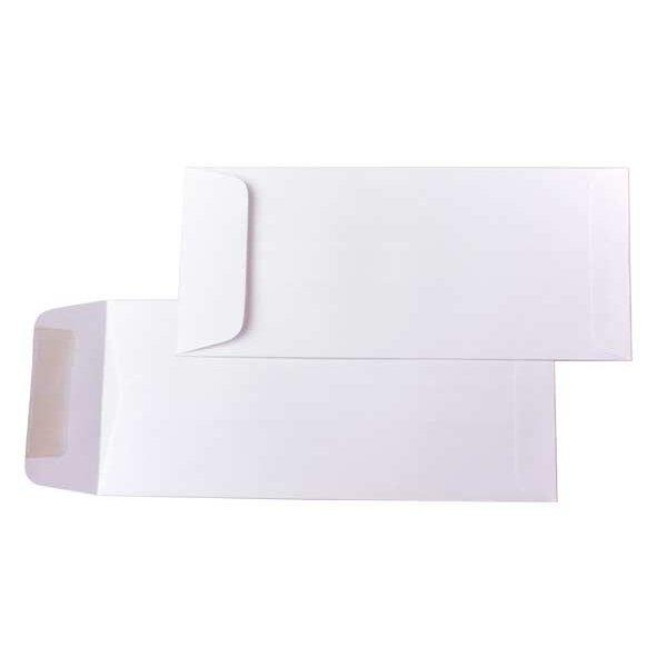 #10 Policy Premium Opaque Envelopes, White (50 Pieces)