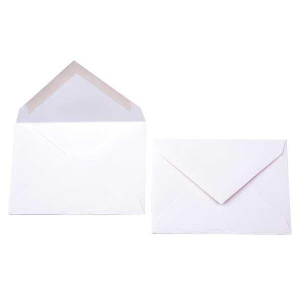 """2 7/8"""" x 4 1/8"""" Premium Opaque Envelope White (50 Pieces)"""