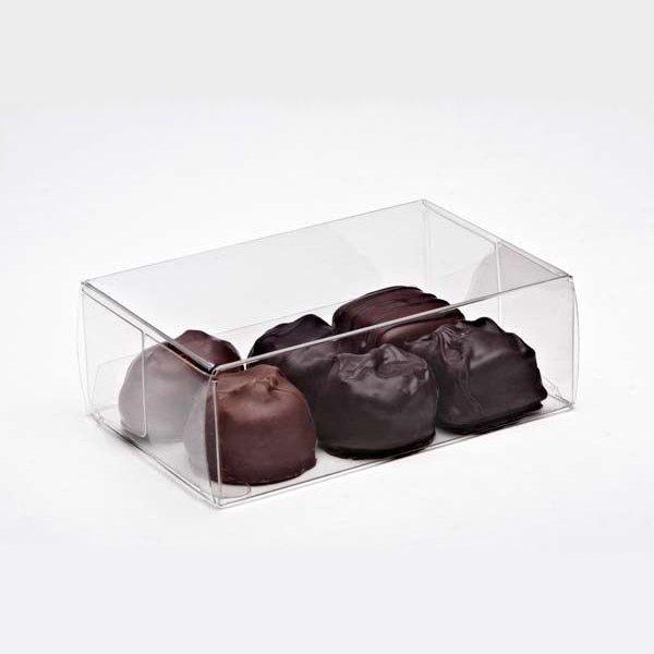 "2 3/4"" x 1 7/16"" x 4 1/8"" Chocolate Box (25 Pieces)"