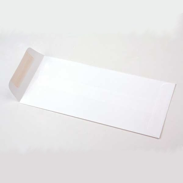 #10 Linen Envelopes, White (50 Pieces)